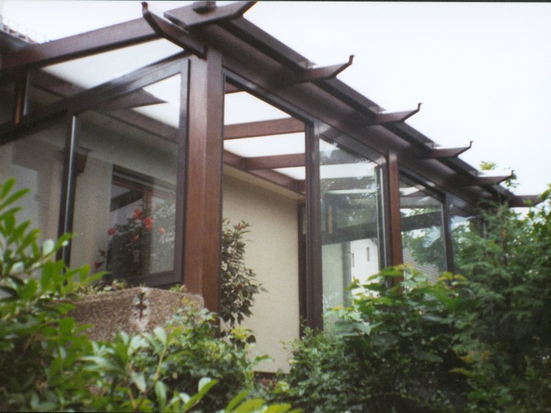 Modern 39 alu v randas et pergolas - Moderne entree veranda ...